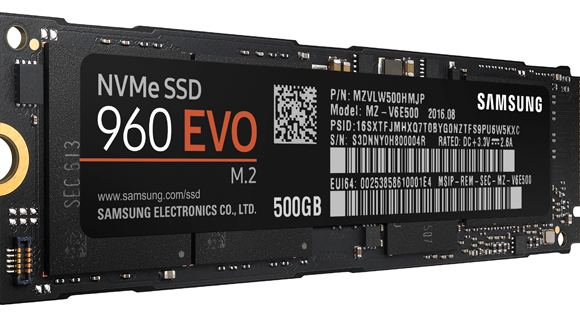 How fast is the Samsung SSD 960 EVO 500 GB? (review)